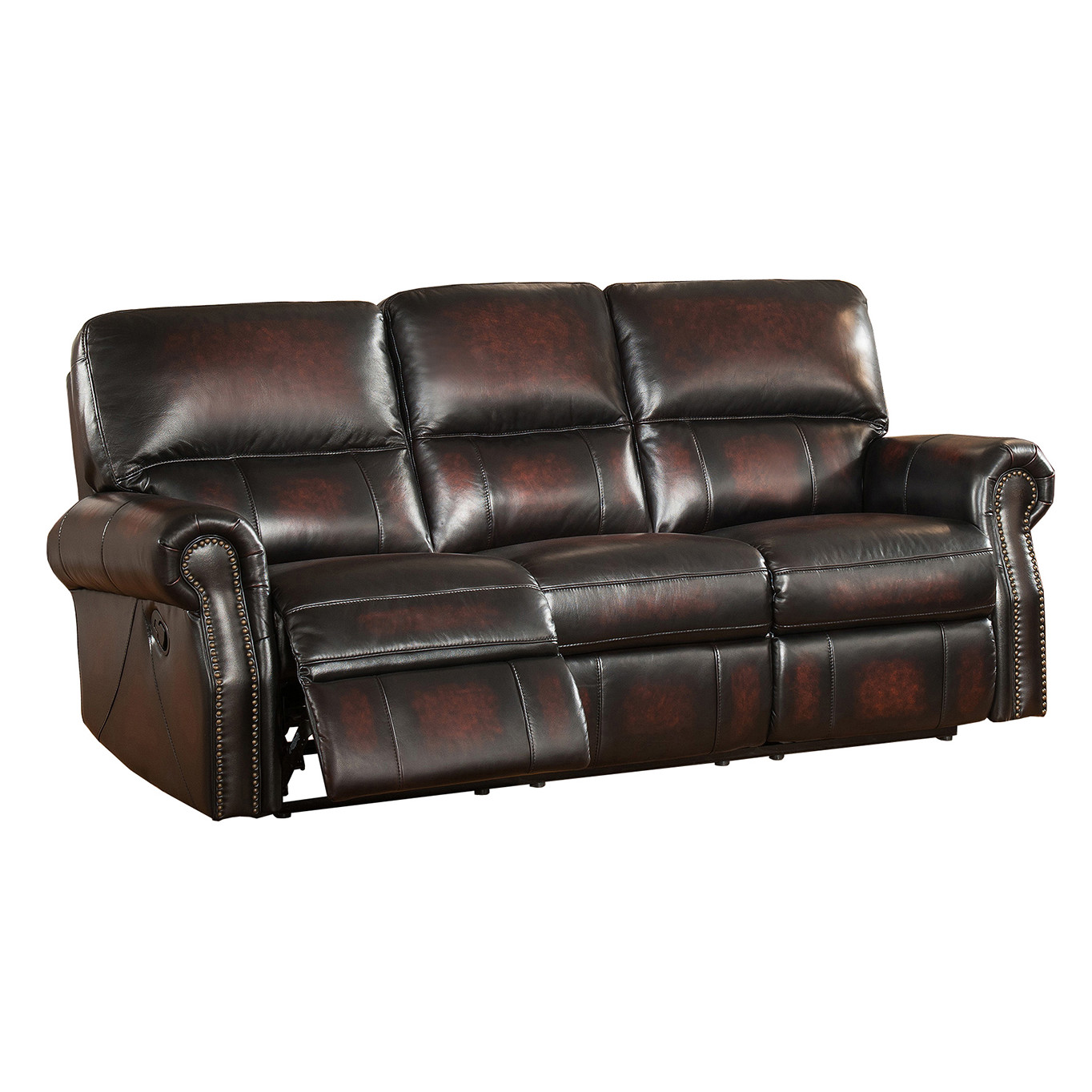 Kimberly leather recliner sofa canadian liquidation 2008 for Liquidation sofa